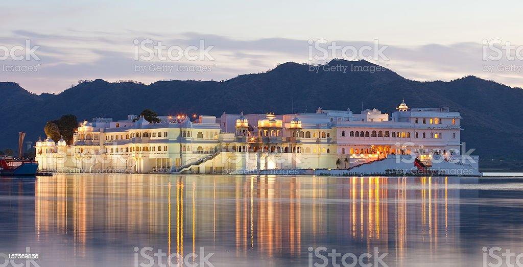 Udaipur Lake Palace stock photo
