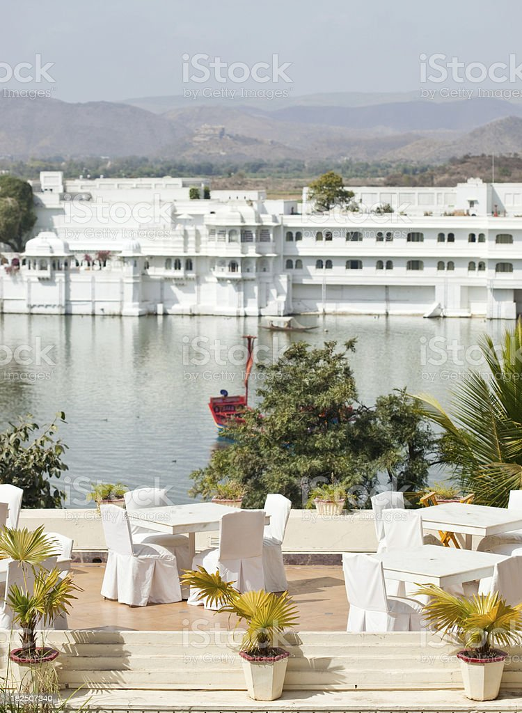 """Udaipur Lake Palace """"Lake Palace From Udaipur In Rajasthan, India"""" Architecture Stock Photo"""