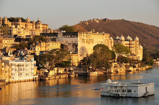 Udaipur,Rajasthan,India.  lake pichola stock pictures, royalty-free photos & images