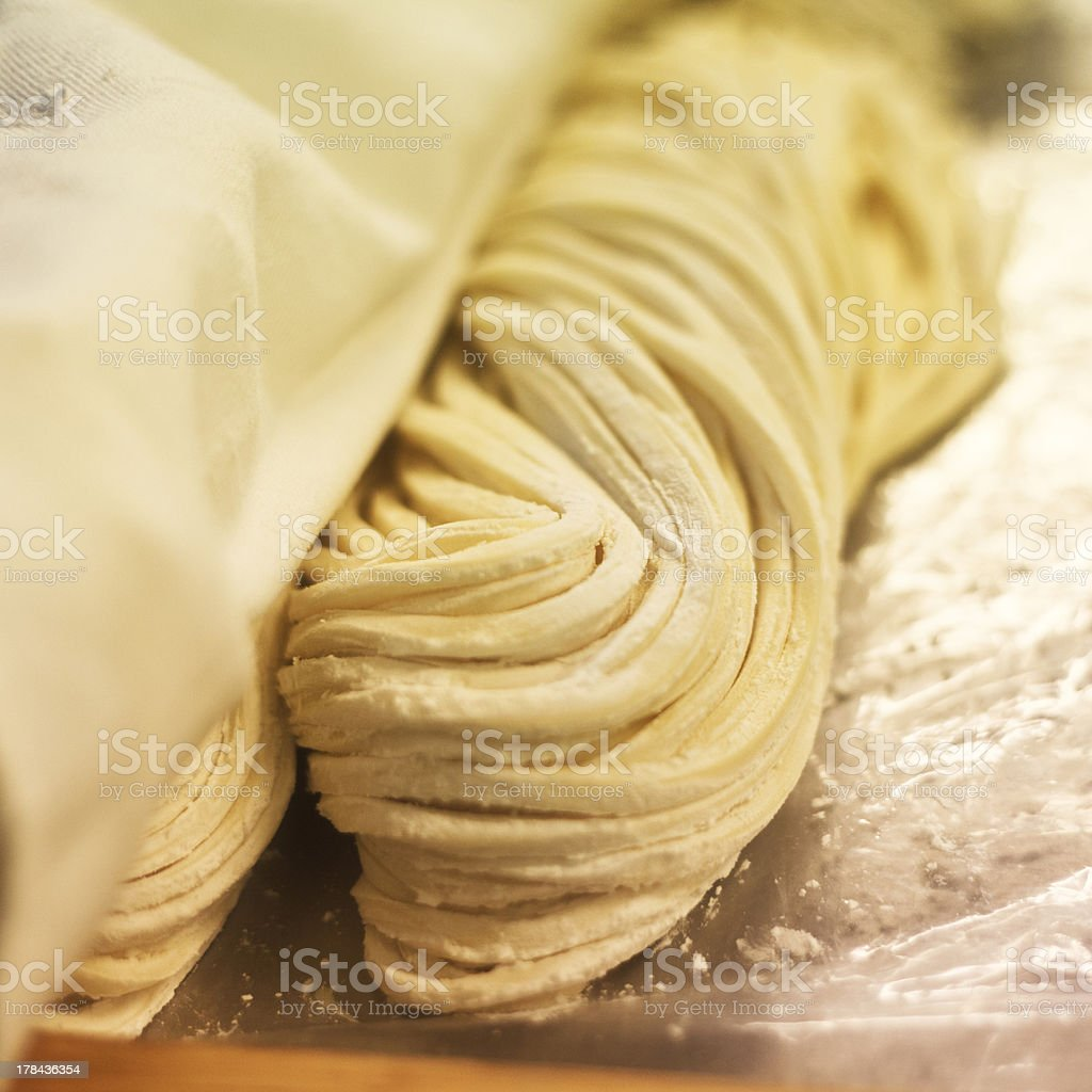 Udon noodles stock photo