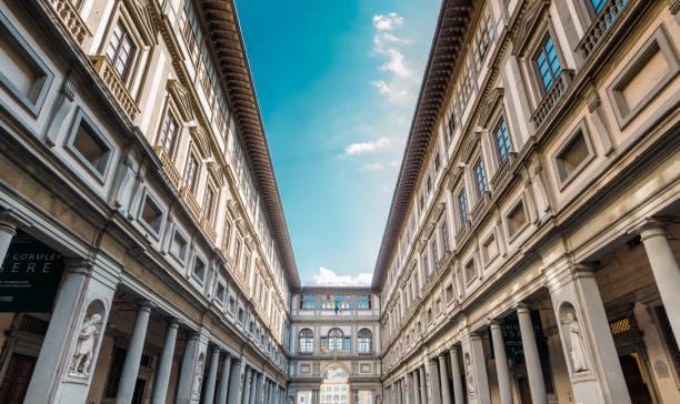 Uffizi Gallery, Florence stock photo