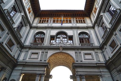 istock Uffizi gallery, Florence 847669414