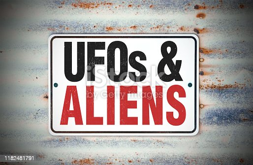 UFOs & Aliens Sign