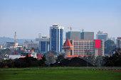 Kampala, Uganda: central business district skyline - photo by M.Torres