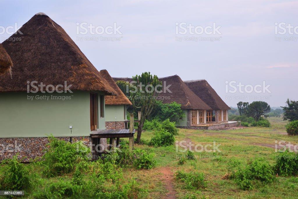 Uganda, Lake George, Africa stock photo