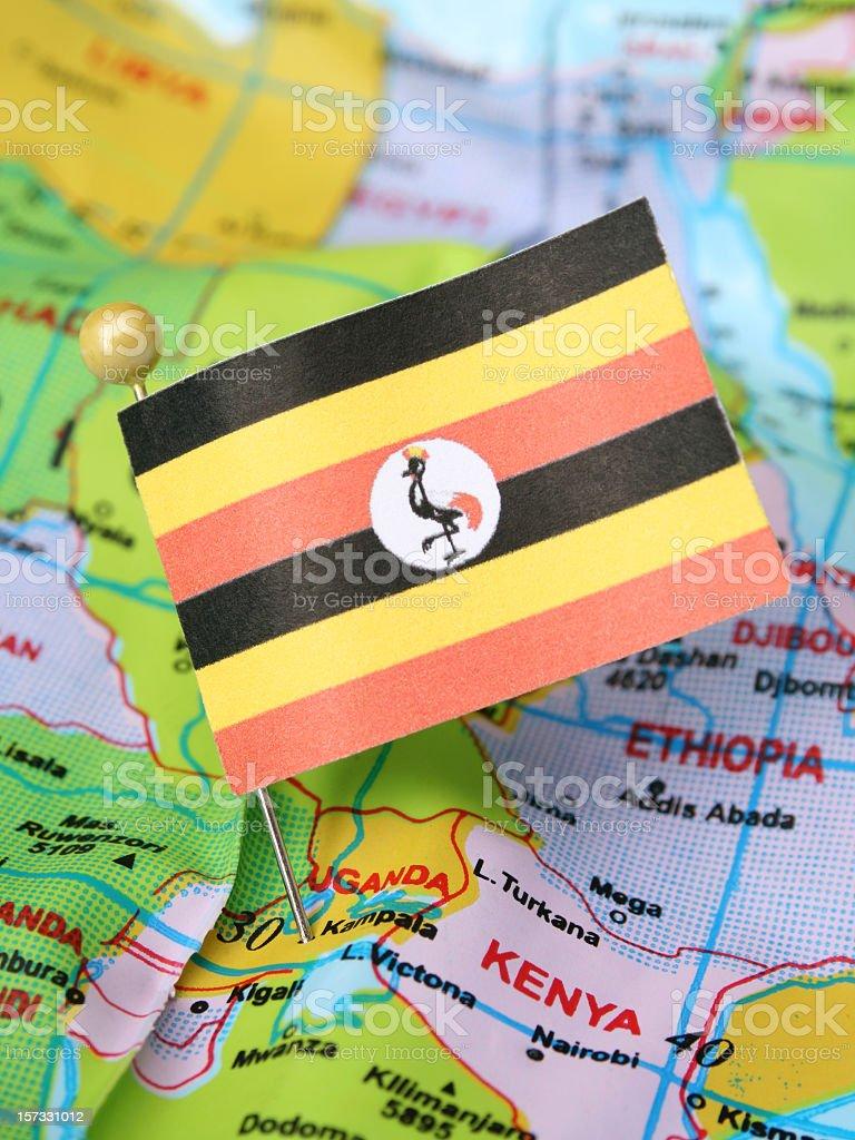 Uganda royalty-free stock photo