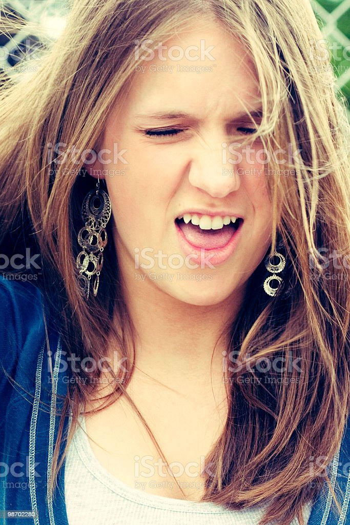 Ugh! royalty-free stock photo