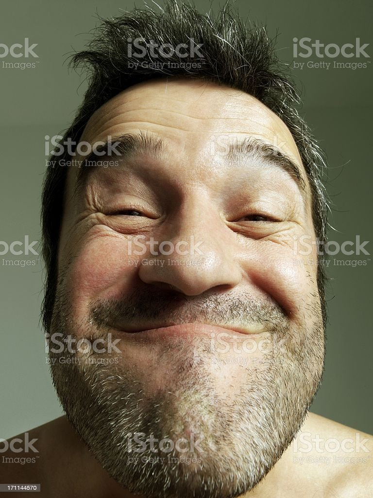 Ugly man royalty-free stock photo