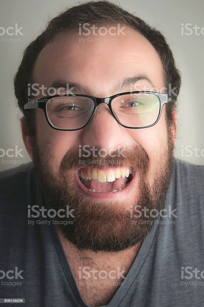 ugly nerd