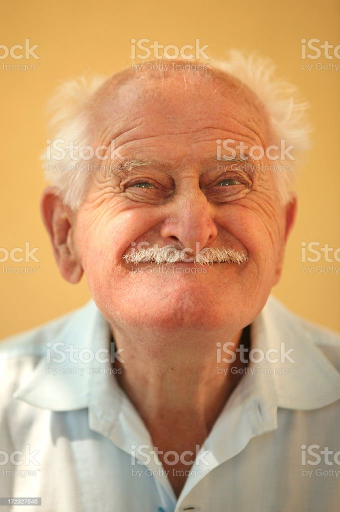ugly old man royalty-free stock photo