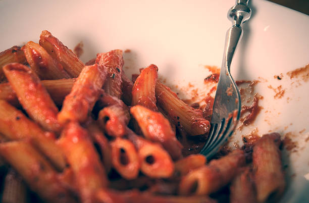 Ugly pasta stock photo