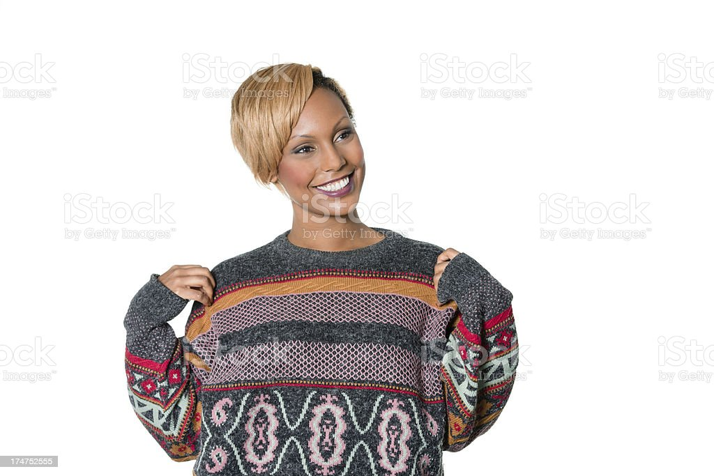 Ugly Sweater stock photo
