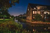 Beautiful Evening in Netherlands