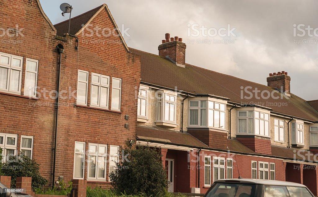 Uk british house - London royalty-free stock photo