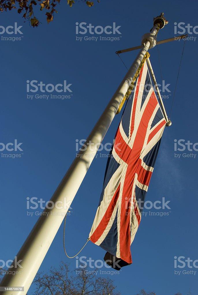 uk flag royalty-free stock photo