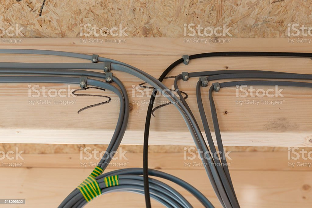 Incredible Uk New Build Domestic House Installation Electrical Cable Wiring Wiring Cloud Oideiuggs Outletorg