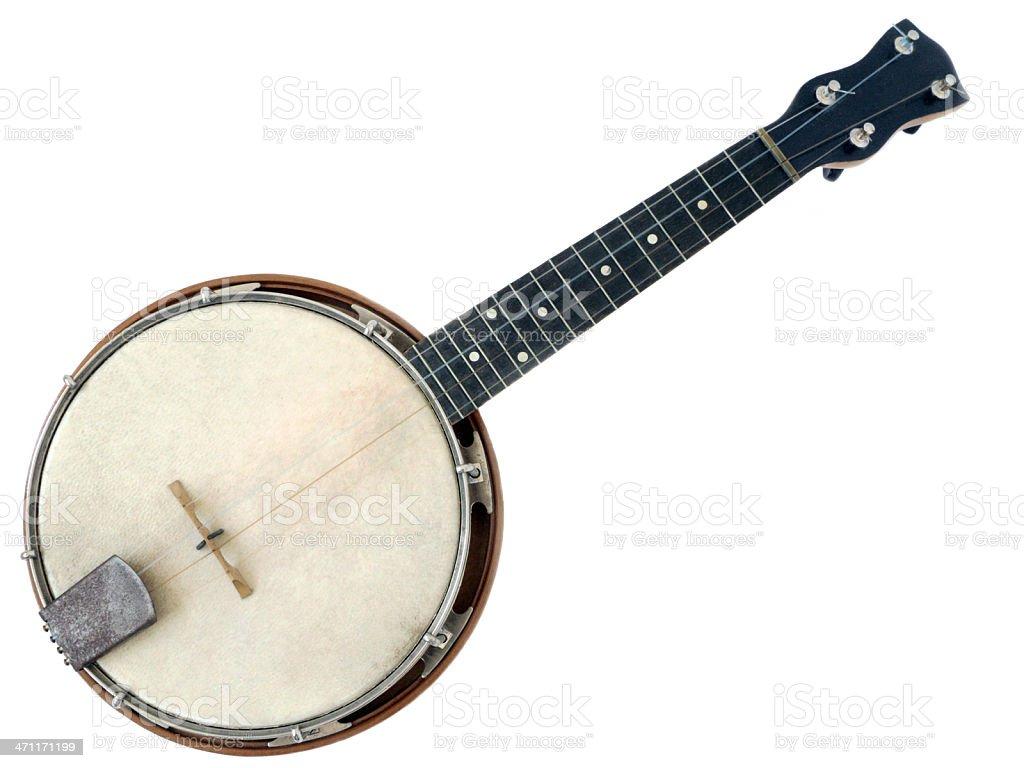 Ukelele Banjo. royalty-free stock photo
