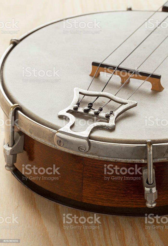 Ukelele banjo tailpiece - foto de acervo