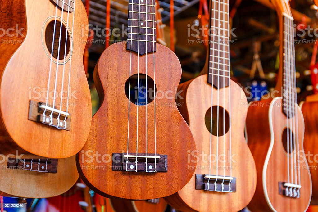 Ukeles for sale stock photo
