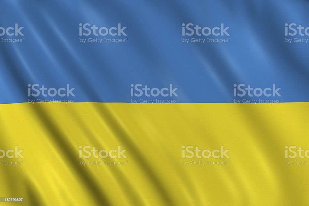 Ukraine Flag Stock Photo More Pictures Of Colors Istock