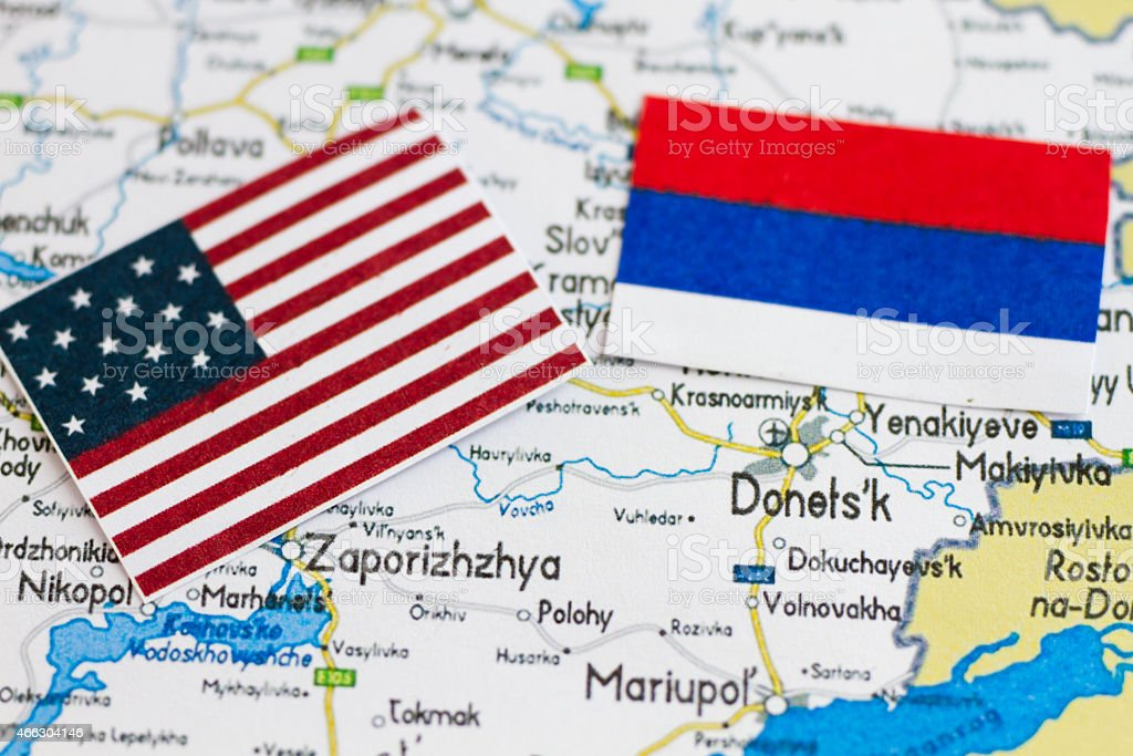 Ukraine Map And Its Political Crisis Stock Photo - Download Image Now -  iStock