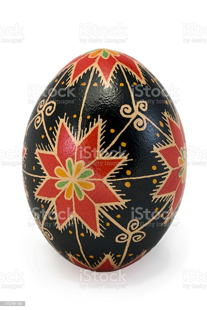 Ukrainian Egg stock photo