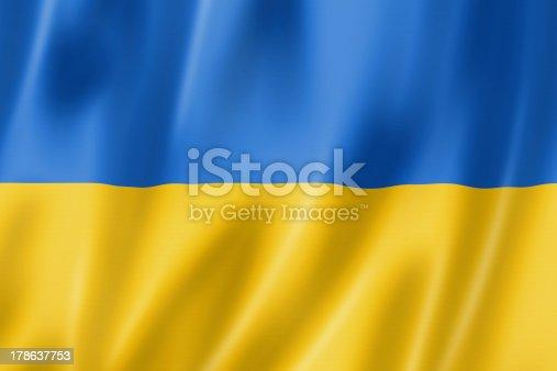 istock Ukrainian flag 178637753