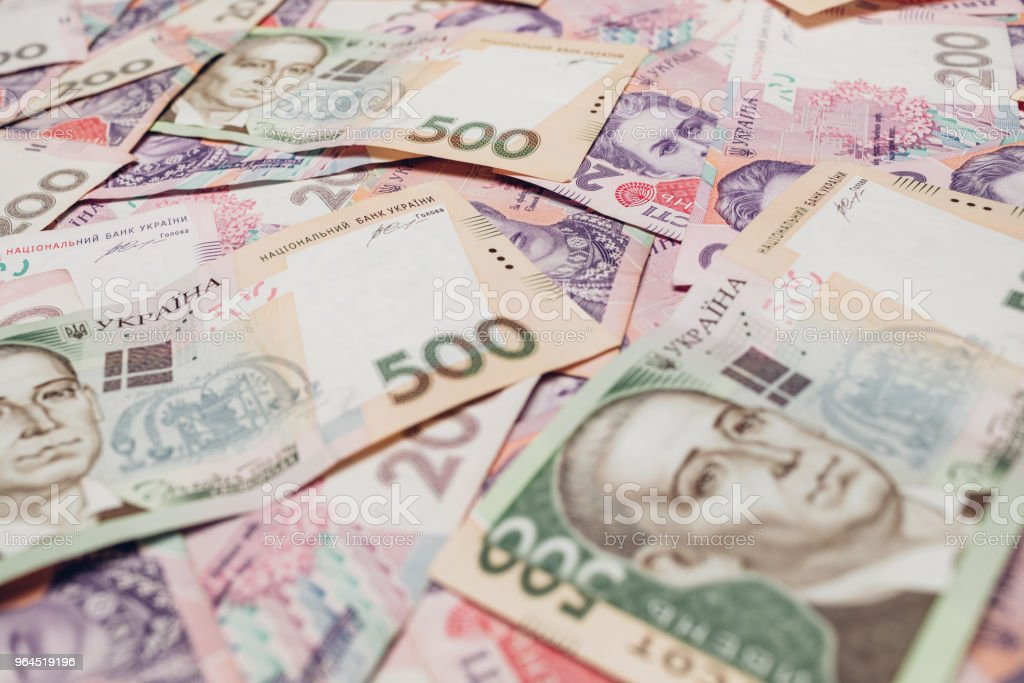 Ukrainian Money Backgrounds Stock Photo More Pictures Of
