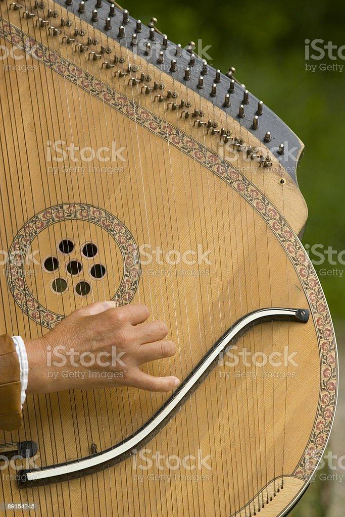 Украинская Национальный Музыкальный инструмент стоковое фото