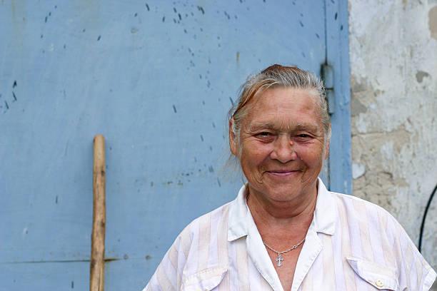 Ukrainian woman stock photo