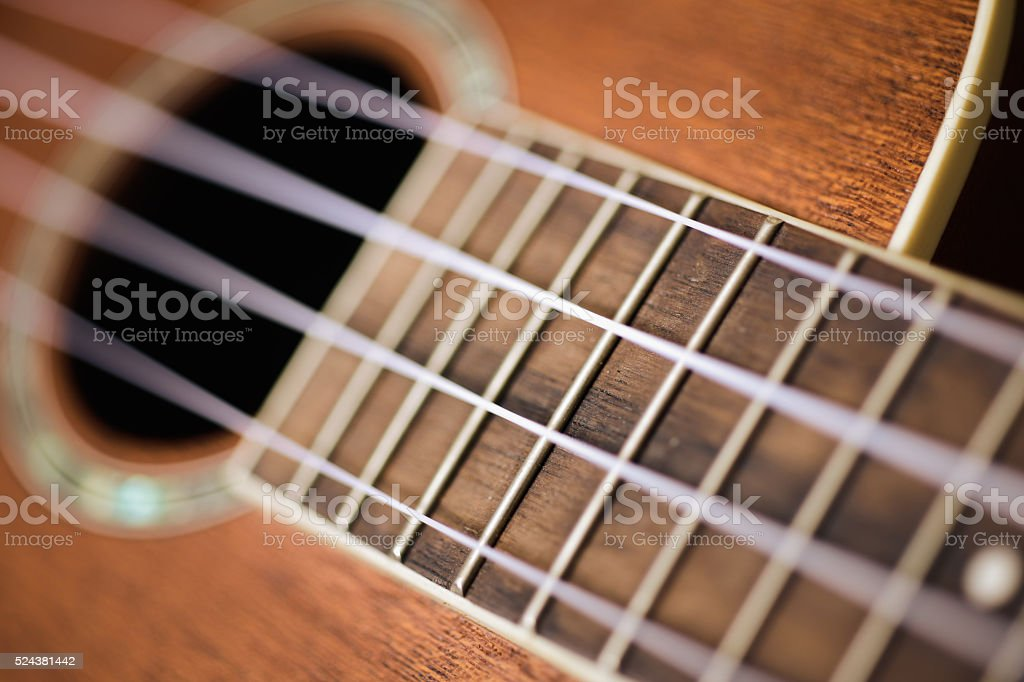 Ukulele stock photo