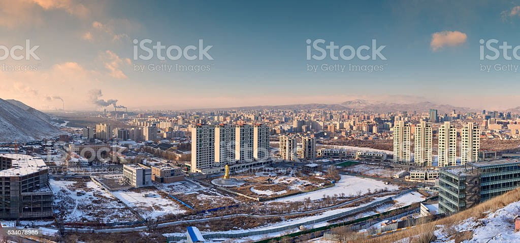 Ulaanbaatar stock photo