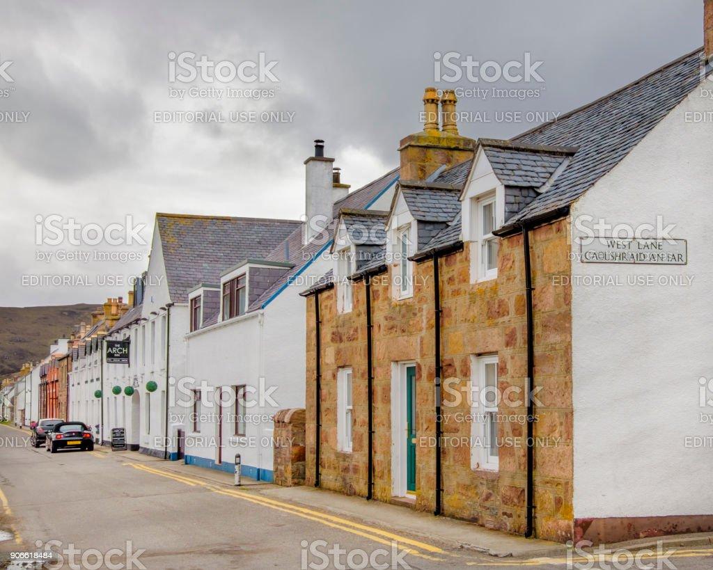 Ullapool, Scotland stock photo