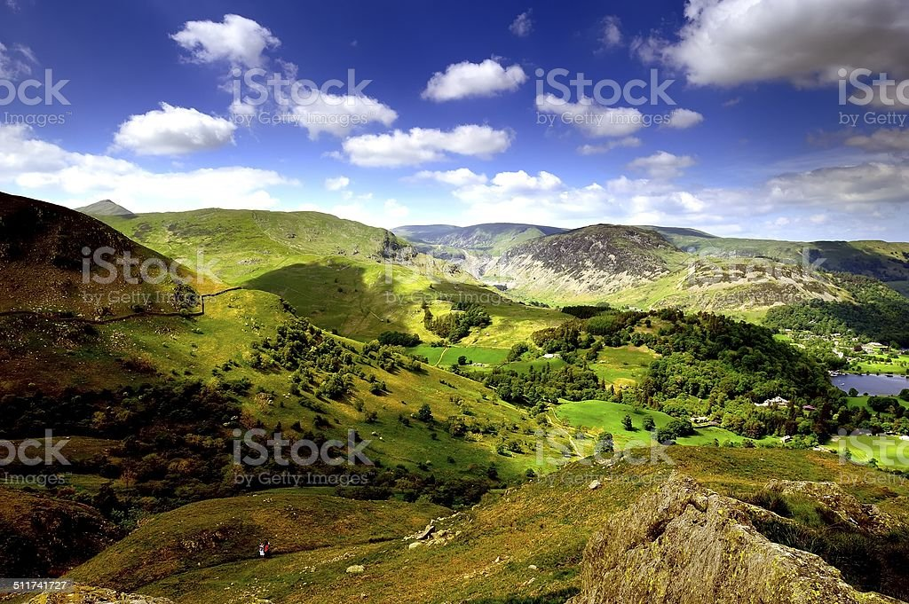 Ullswater stock photo