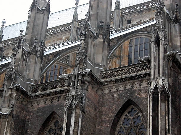 Ulm Minster church Ulm Minster gothic church in Ulm, Germany ulm minster stock pictures, royalty-free photos & images