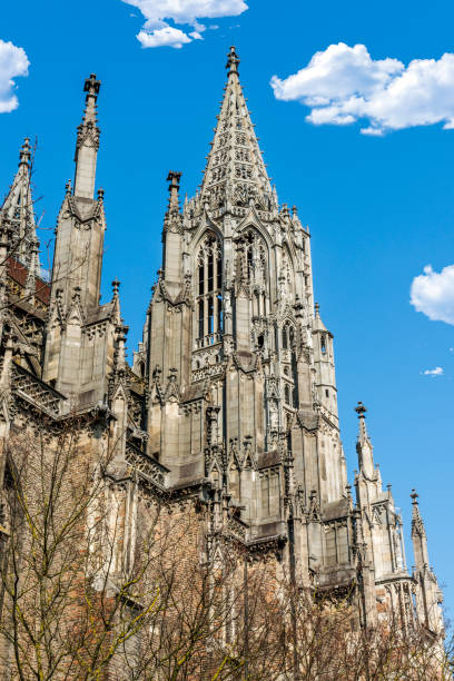Ulm Minster Ulm Minster ulm stock pictures, royalty-free photos & images