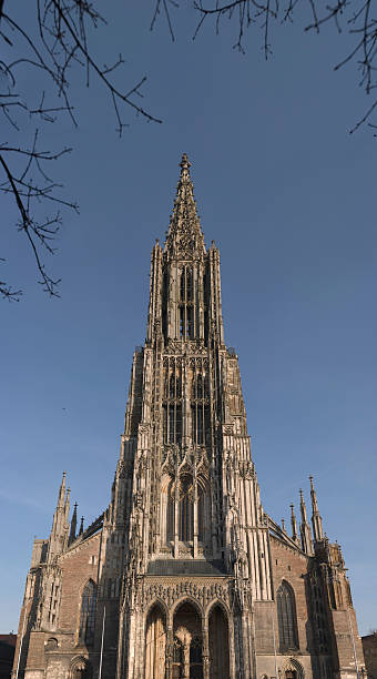 Ulm Minster Ulm Minster is a Lutheran church located in Ulm, Germany. ulm minster stock pictures, royalty-free photos & images