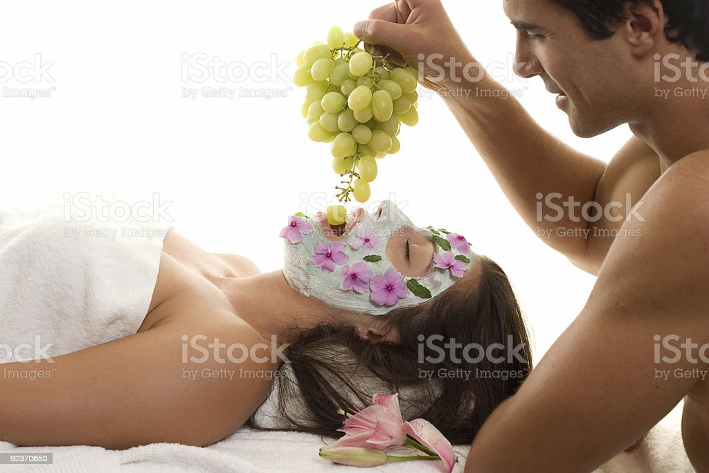Ultimate Spa Beauty Experience royalty-free stock photo