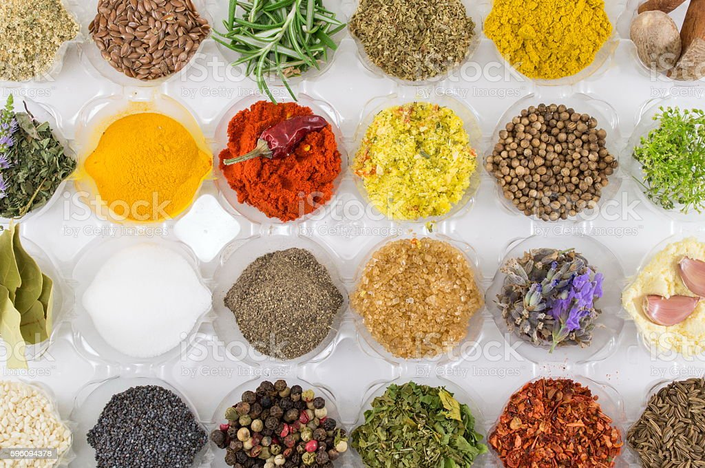 Ultimate spice collection royalty-free stock photo