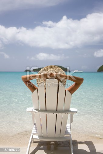 istock ultimate summer vacation at the Caribbean beach 182468770