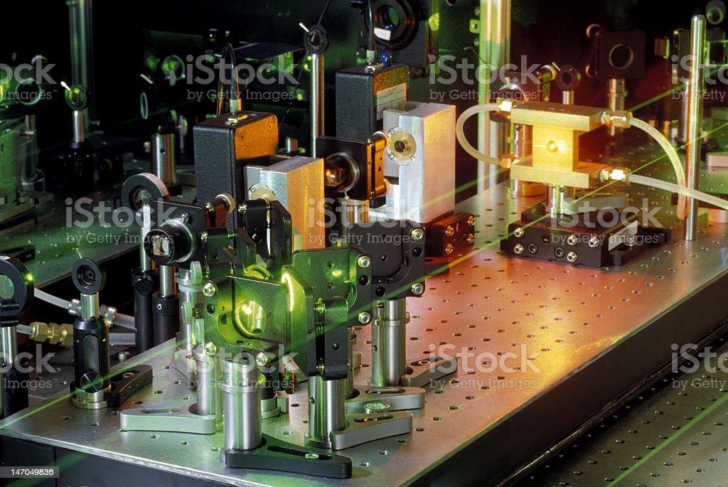 Ultra Fast Laser stock photo