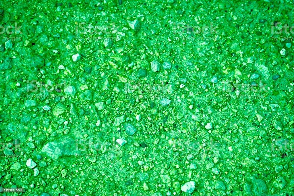 Ultra Grun Boden Textur Sandoberflache Stein Hintergrund Stock
