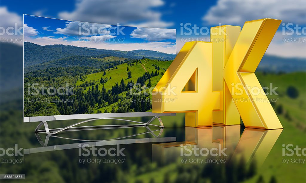 Ultra HD  mountains stock photo