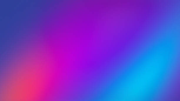 Ultra Violet Colored Gradient Blurred Motion Abstract Technology Background stock photo