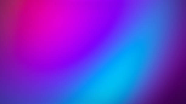 ultra violet gradient blurred motion abstract background - türkis blau stock-fotos und bilder