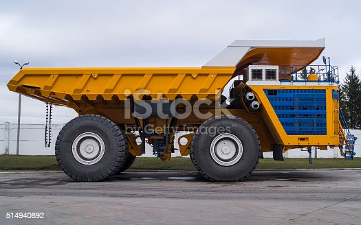 istock Ultra-Class Haul Truck Copy Space Background 514940892