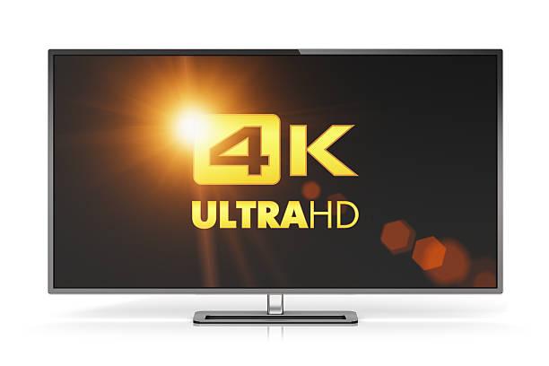 4 K UltraHD pulgadas - foto de stock