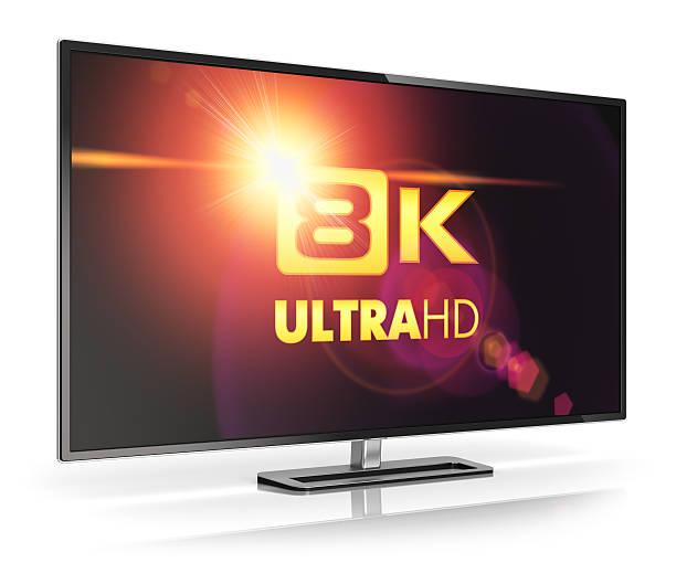 8 K UltraHD-Fernseher – Foto