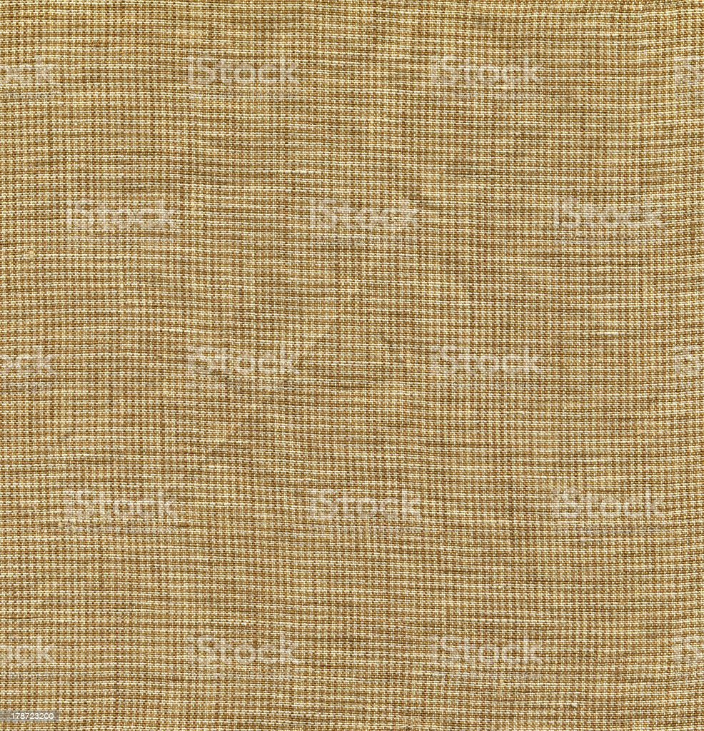 Ultra-high resolution-Yellow linen texture background(Pixel:10500 x 10907) royalty-free stock photo