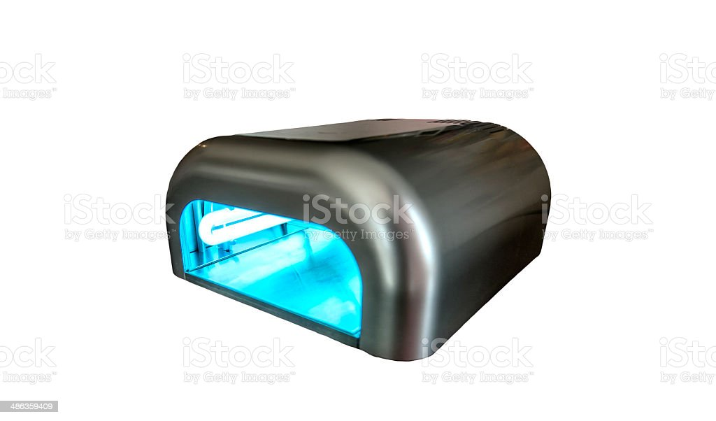 Ultraviolet Machine stock photo